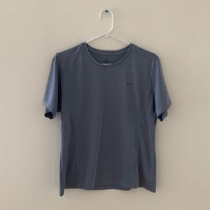 3/$20 under armour large grey workout athletic top